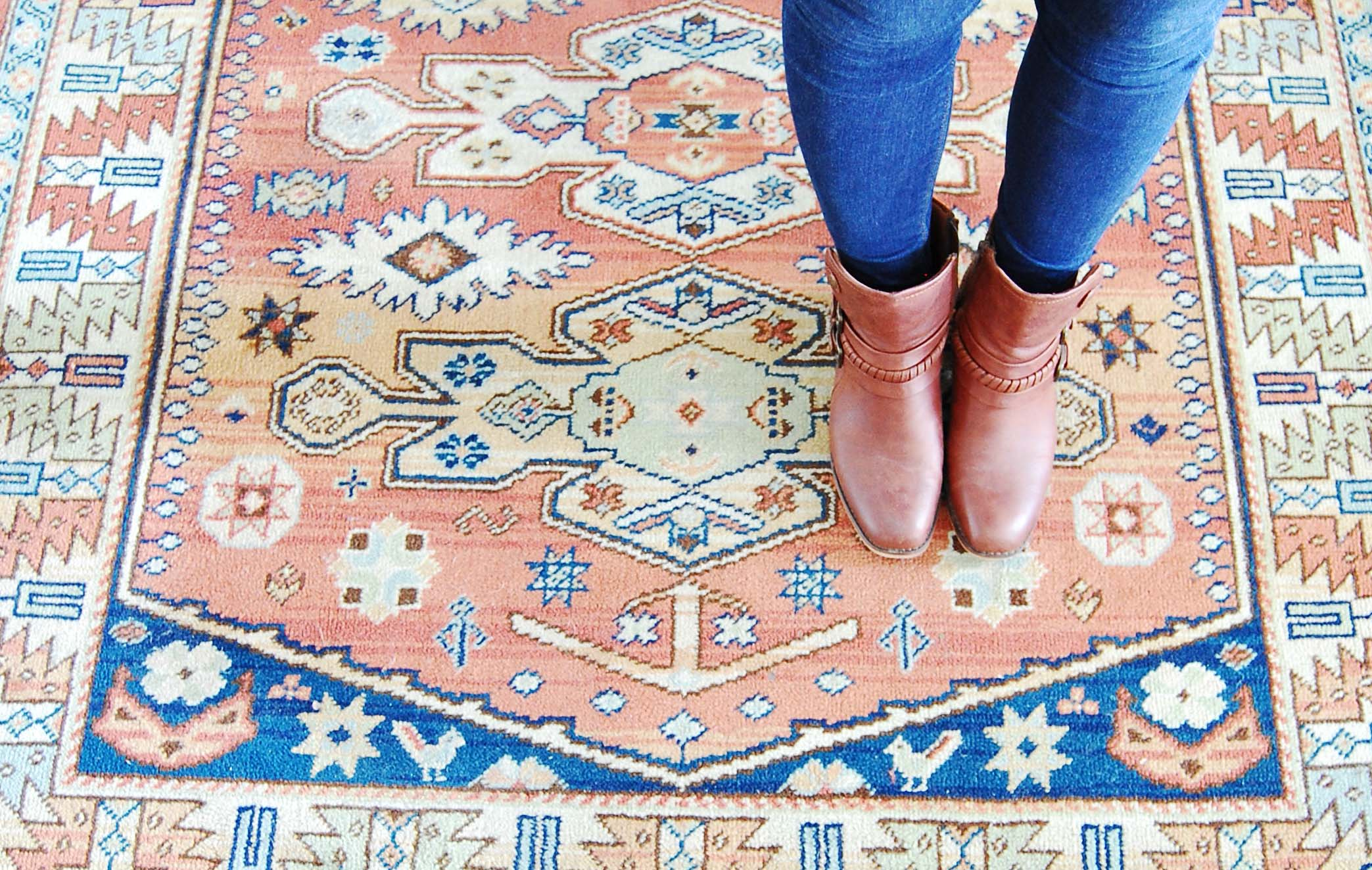 Left & Level Affordable Vintage Rug Finds